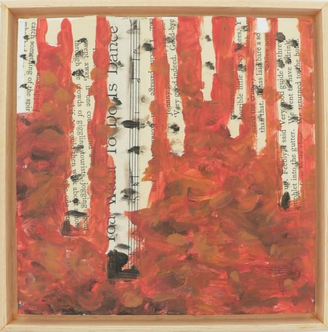 Fall woods 6x6