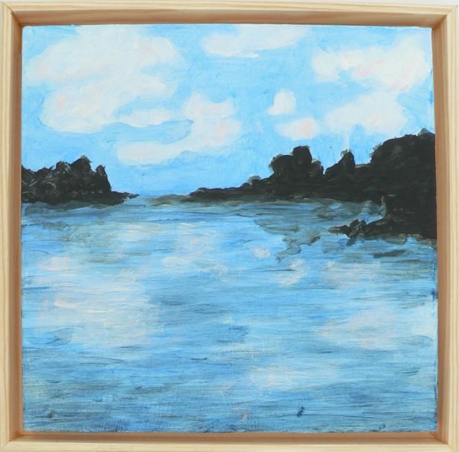 River Landscape 6x6